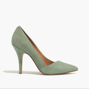 "Madewell Sage ""The Mira"" Suede Pumps"
